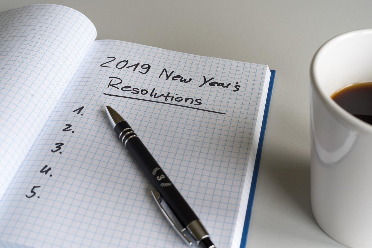 2019 setze ich alles neu!