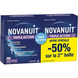 Novanuit Triple Action Sleep Melatonin