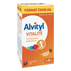 Alvityl Vitality is a nutritional supplement that brings vitality to the body to enable it to fight against winter fatigue.