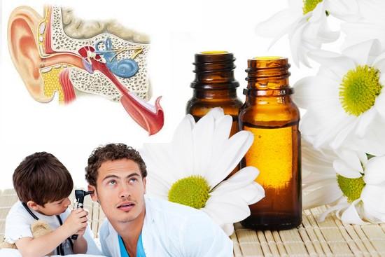 Recettes d' huiles essentielles pour la sphère ORL