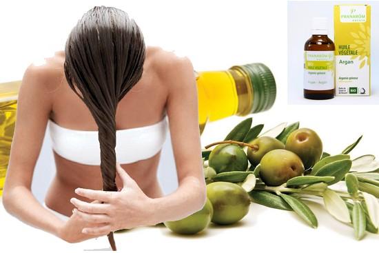 Behandeln Sie Ihr Haar natürlich mit pflanzlichen Ölen