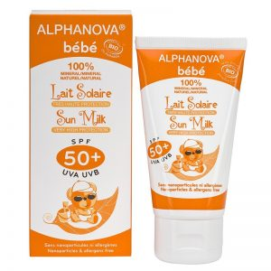 Crème solaire bébé Alpha Nova