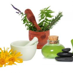 treat with herbal remedies and herbal medicine