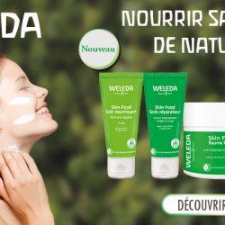 Découvrez la nouvelle gamme Weleda Skin Food pour peaux sèches.