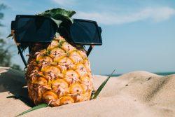 Natural summer skincare