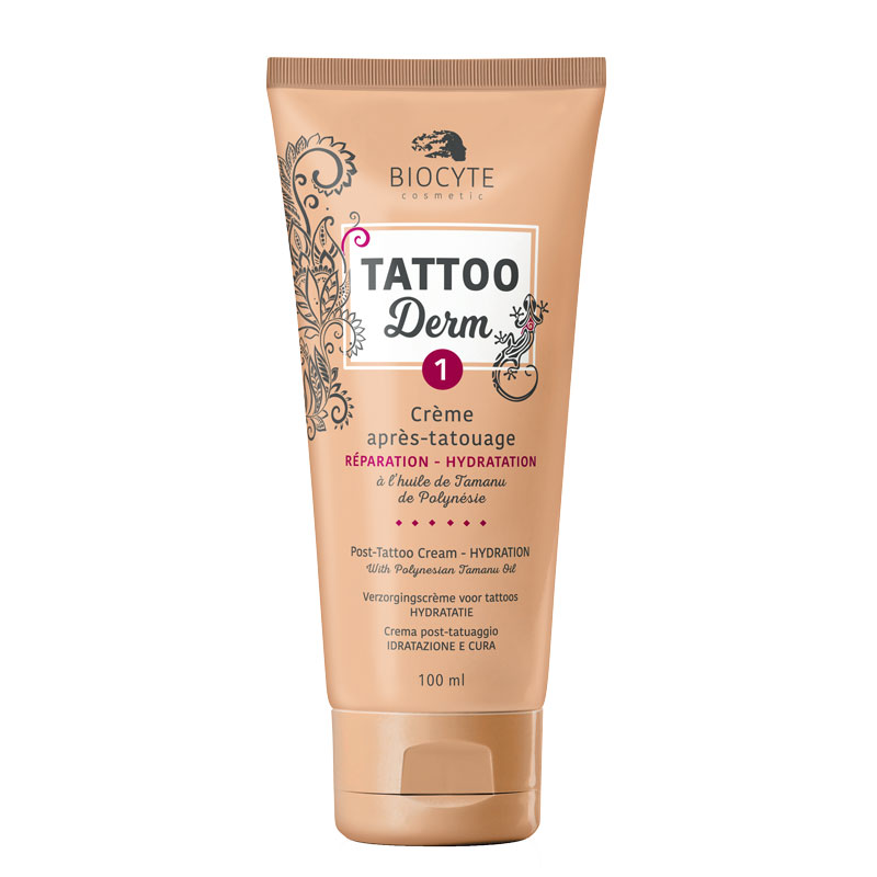 crème cicatrisante tatouage tattoo derm
