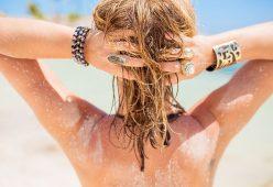 Come prendermi cura dei miei capelli dopo l'estate?