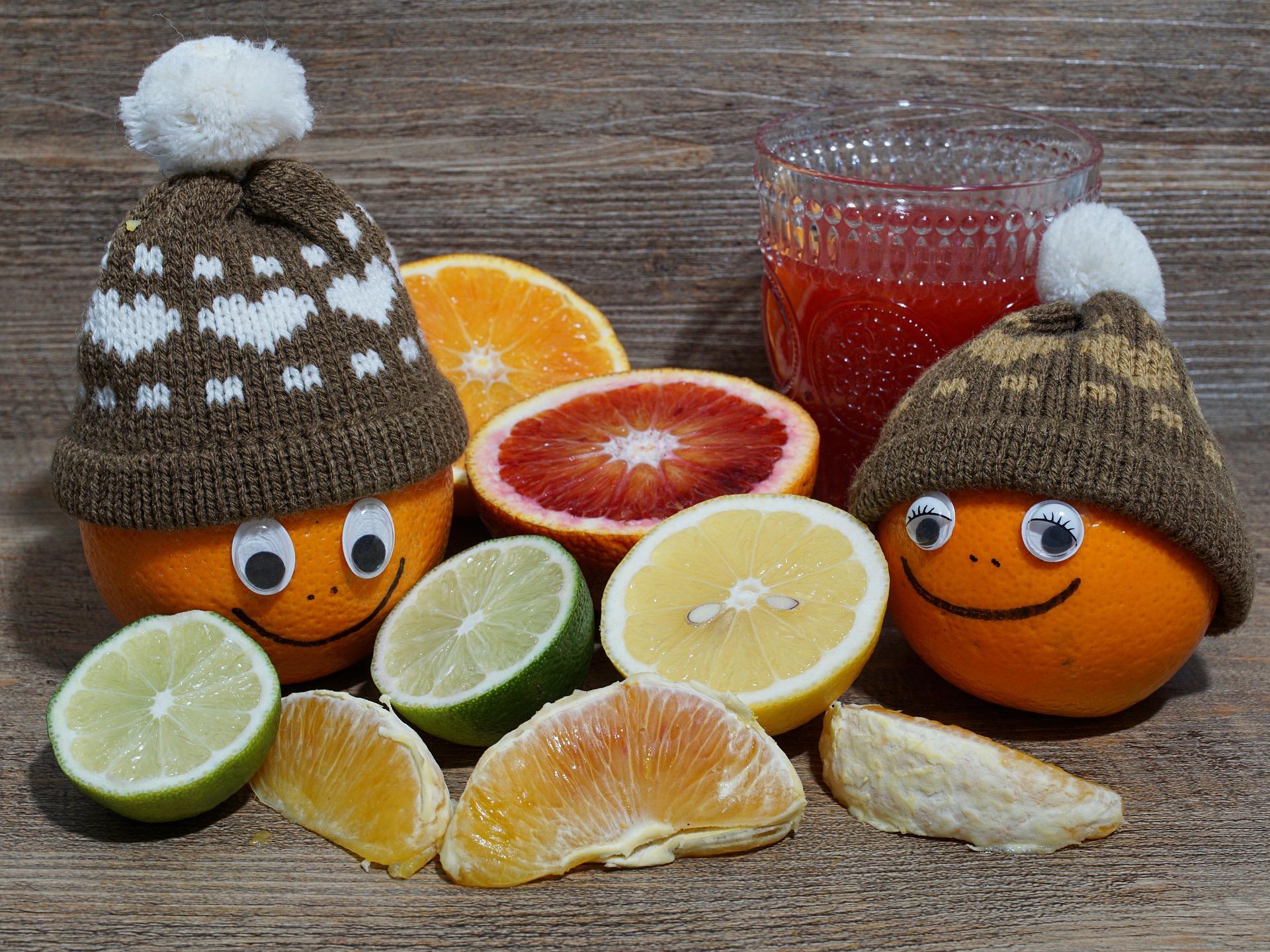 Curare la vitamina C in inverno
