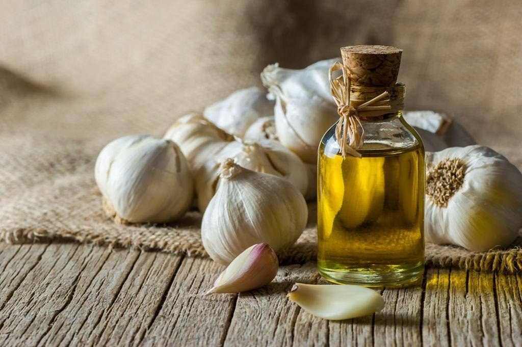 aceite esencial de bulbo de ajo